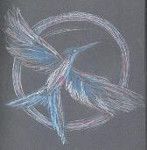 illustration, Collins, Hunger Games, crayons de couleurs