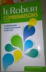 dictionnaire, collocation, combinatoires, linguistiqus